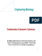 16) Geometric Tolerances