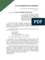 Pneumatología y Cristología