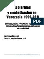 Escolaridad y alfabetizacion en Venezuela.doc