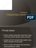 Presentasi Poster