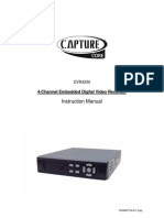 4-Channel Embedded Digital Video Recorder