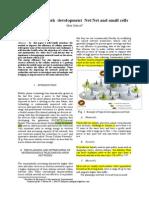 A Mobile Network Development NetNet and Small Cells-1C Orectat