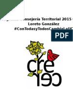 Programa CT Educación Crecer 2015 - Loreto González