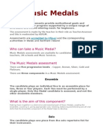 What is a Music Medal ABRSM