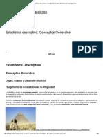 Estadística descriptiva_ Conceptos Generales _ Biblioteca de Investigaciones.pdf