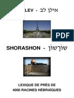 TORÁ - Dictionnaire D'Hebreu (Par Racines) - Torah Juif Israel