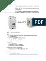 Configuring the SMC Flex With the MicroLogix 1100 via Modbus RTU