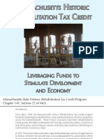 Massachusetts Historic Rehabilitation Tax Credit Program