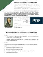 Mole Constante de Avogadro Massa molar.pdf