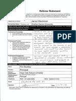 finn buckley referee statement 020914