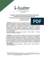 É POSSÍVEL FORMAR PROFESSORES REFLEXIVOS.pdf