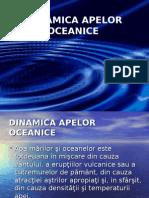 DINAMICA APELOR OCEANICE
