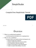 Simplescalar Overview