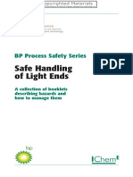 BP process safety series - Safe Handling of Light Ends