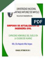 Capacidad Admisible de Suelos en Huaraz.pdf