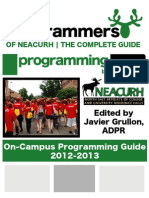 NEACURH Campus Programming Guide