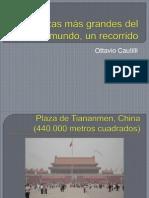 5 Plazas más grandes del mundo, un.pptx
