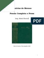 Moraes, Vinicius de (Poesia Completa e Prosa) [Livro].doc