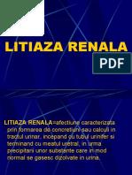 Litiaza Renala