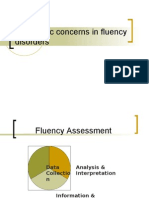 Diagnostic Concerns in Fluency Disorders