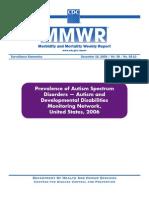CDC Report 57 Percent Increase in Autism