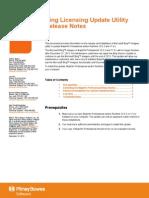 Utili y Release Notes