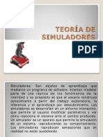 TEORIA DE SIMULADORES