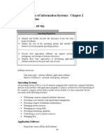 Fund Ch 2 Software Reading Outline