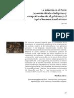 Jan Lust - Las comunidades indígenas y campesinas frente al gobierno y el capital transnacional minero.pdf