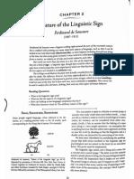 Week 2 - Nature of Language Sign