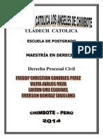 TRABAJO GRUPAN DE DERECHO PROCESAL CIVIL - JURISPRUDENCIA SOBRE LAS CONDICIONES DE LA ACCION.docx