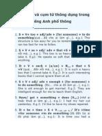 75cấu Trúc Và Cụm Từ Thông Dụng Trong Tiếng Anh