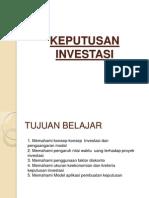 Keputusan Investasi