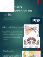 Hipoacusia Neurosensorial en el RN.pptx