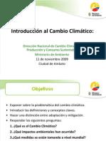 Presentación Cambio Climatico_Sep 8 2009tp.ppt