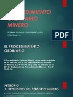 PROCEDIMIENTO ORDINARIO MINERO.pptx