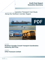 Analytical Comparative Transport Cost Study on the Northern Corridor (1)