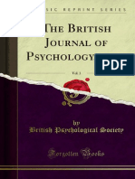 The British Journal of Psychology