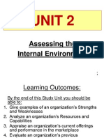 Unit 2 - Assessing the Internal Environment (Revised - Sept 2013) (1)