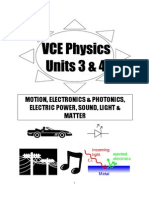 12VCE Physics Notes 2014