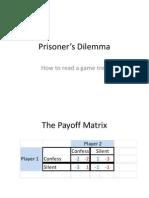 Prisoner's Dilemma - economics 201