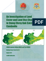 An Investigation of Land Cover and Land Use Change in Stung Chrey Bak Catchment, Cambodia