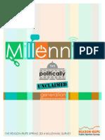 2014 Millennials Report from the SUNY & MU
