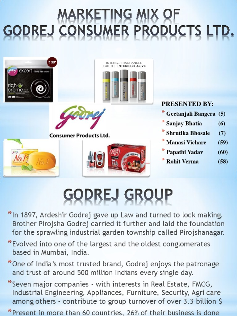 marketing mix of different companies