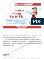 235960491 PT3 English Essay Writing Tips
