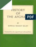 History of the Afghans (1836 ) by Neamet Ullah