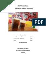 Proposal Usaha Cincauppucino