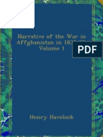 Narrative of the War in Affghanistan 1838-39 Vol 1 (1840) by Henry Havelocks
