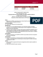 HSE Guidelines