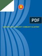 ASEAN Pol-sec Blueprint